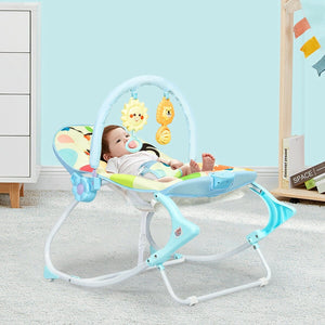Premium Baby Bouncer Infant Toddler Rocking Swing Chair - Morealis