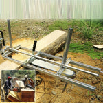 Premium Chainsaw Mill Guide Bar Milling Planking Lumber Portable Cutting Tool - Morealis