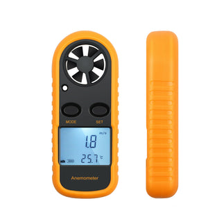 Premium Digital Anemometer Wind Speed Handheld Measurement Tool - Morealis