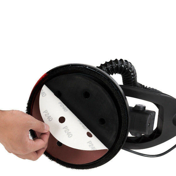 Premium Drywall Sander Electric Vacuum Variable Speed Sander with Light 750W - Morealis