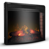 Premium Electric Fireplace Insert Embedded Wall Space Heater