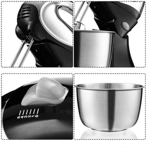 Premium Electric Stand Up Cake Dough Hook Tilt Head 7.5Qt - Morealis