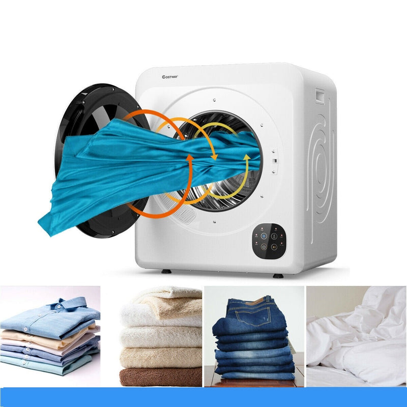 Premium Electric Tumble Clothes Dryer Steel Tub 1700W - Morealis