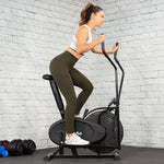 Premium Elliptical Machine Trainer Compact Exercise Machine - Morealis