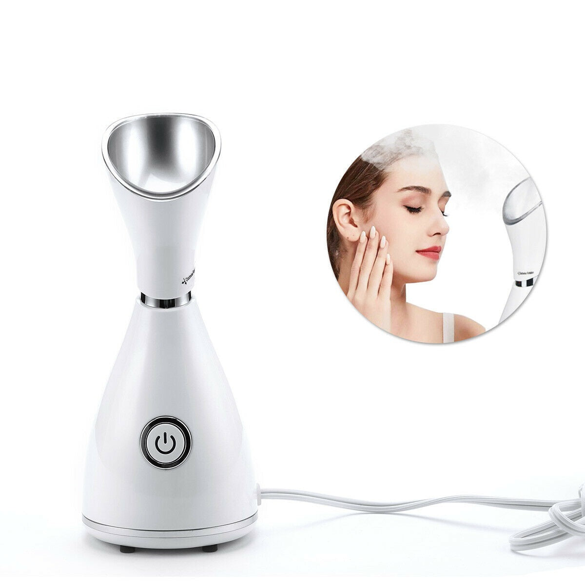 Premium Facial Steamer Nano Ionic Humidifier Warm Mist Machine - Morealis