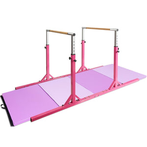 Premium Gymnastics Parallel Bars Horizontal Kids Double Horizontal Bars - Morealis