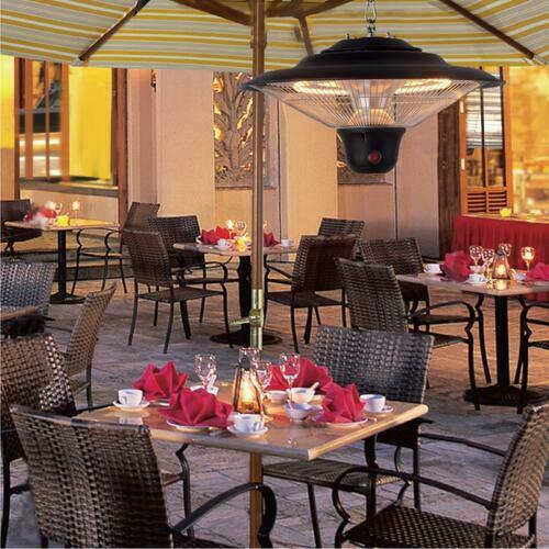 Premium Hanging Electric Patio Heater for Outdoor 1500W - Morealis