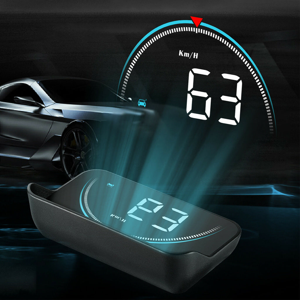 Premium Heads Up Display Car HUD Speedometer OBD2 - Morealis