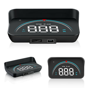 Premium Car Heads Up Display HUD Speedometer OBD2 - Morealis