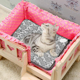 Premium Heat Pet Bed Outdoor Dog Cat Heating Bed - Morealis