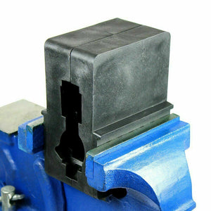 Premium Heavy Duty Steel Bench Vise Swivel Locking Base Table Top Clamp - Morealis