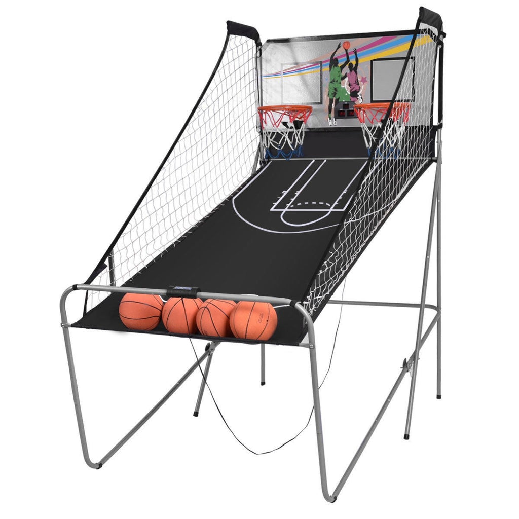 Premium Indoor Basketball Hoop Electronic Arcade Basketball Game - Morealis