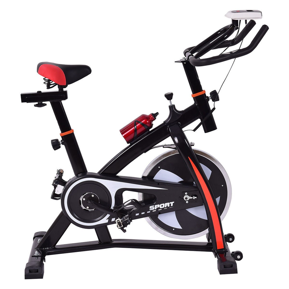 Premium Indoor Exercise Bike Cardio Stationary Spin Cycling Machine Trainer - Morealis