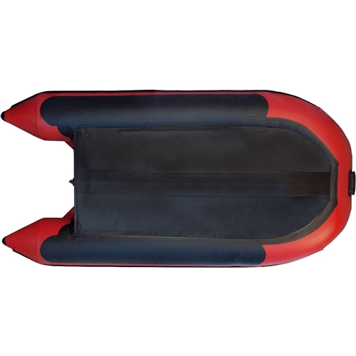 Premium Inflatable Boat with Air Deck Floor Red 10.5ft - Morealis