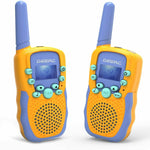 Premium Kids Walkie Talkie Long Range 22 Channels Toy Set for Children - Morealis
