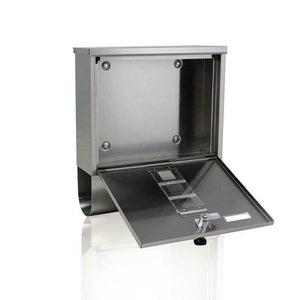 Premium Locking Mail Box Secure Wall Mount Locking House Residential Box - Morealis