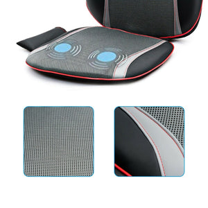 Premium Massage Chair Pad Shiatsu Neck Back Relaxing Seat Cushion - Morealis