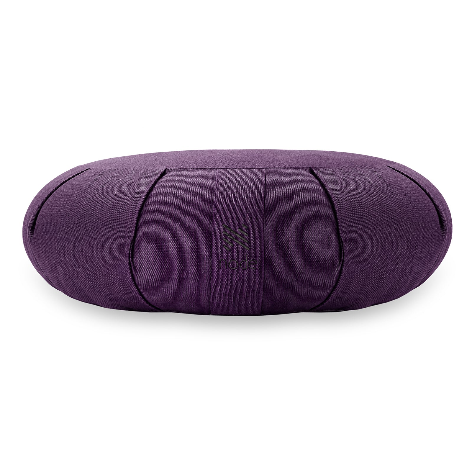 "Premium Meditation Cushion Pillow Crescent Organic 17"" - Morealis"