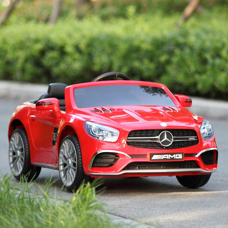 Mercedes Benz Kids Electric Car Children Toy Cars Motorized Power Wheel