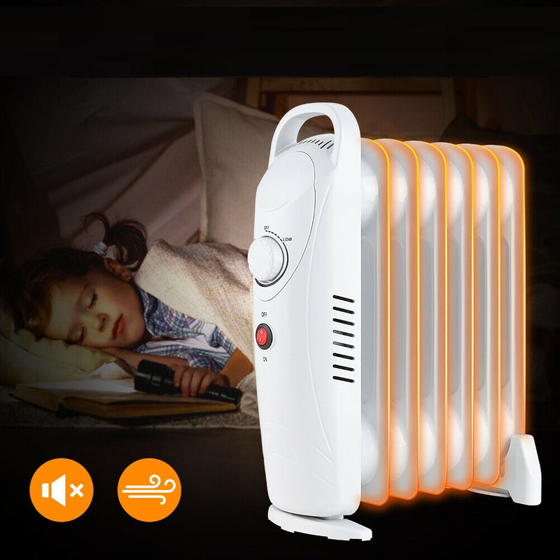 Premium Oil Filled Radiator Heater Portable Space Heater - Morealis