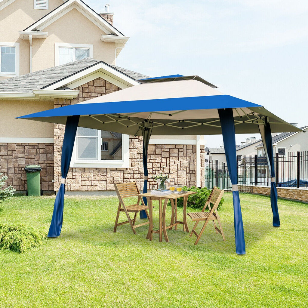 Premium Outdoor Canopy Tent Patio Gazebo Shade Shelter Tent - Morealis