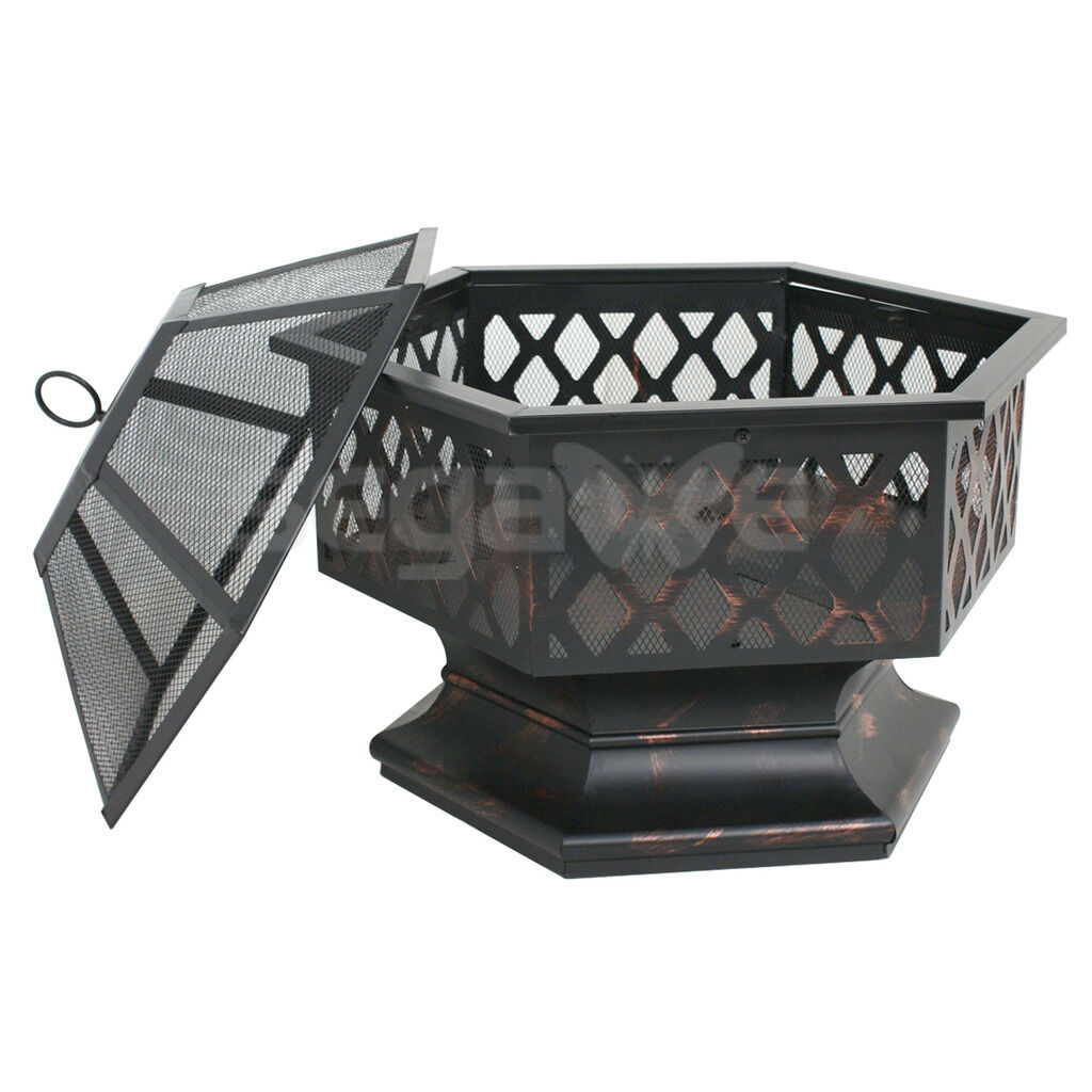 Premium Outdoor Firepit Bowl Small Garden Patio Fireplace - Morealis