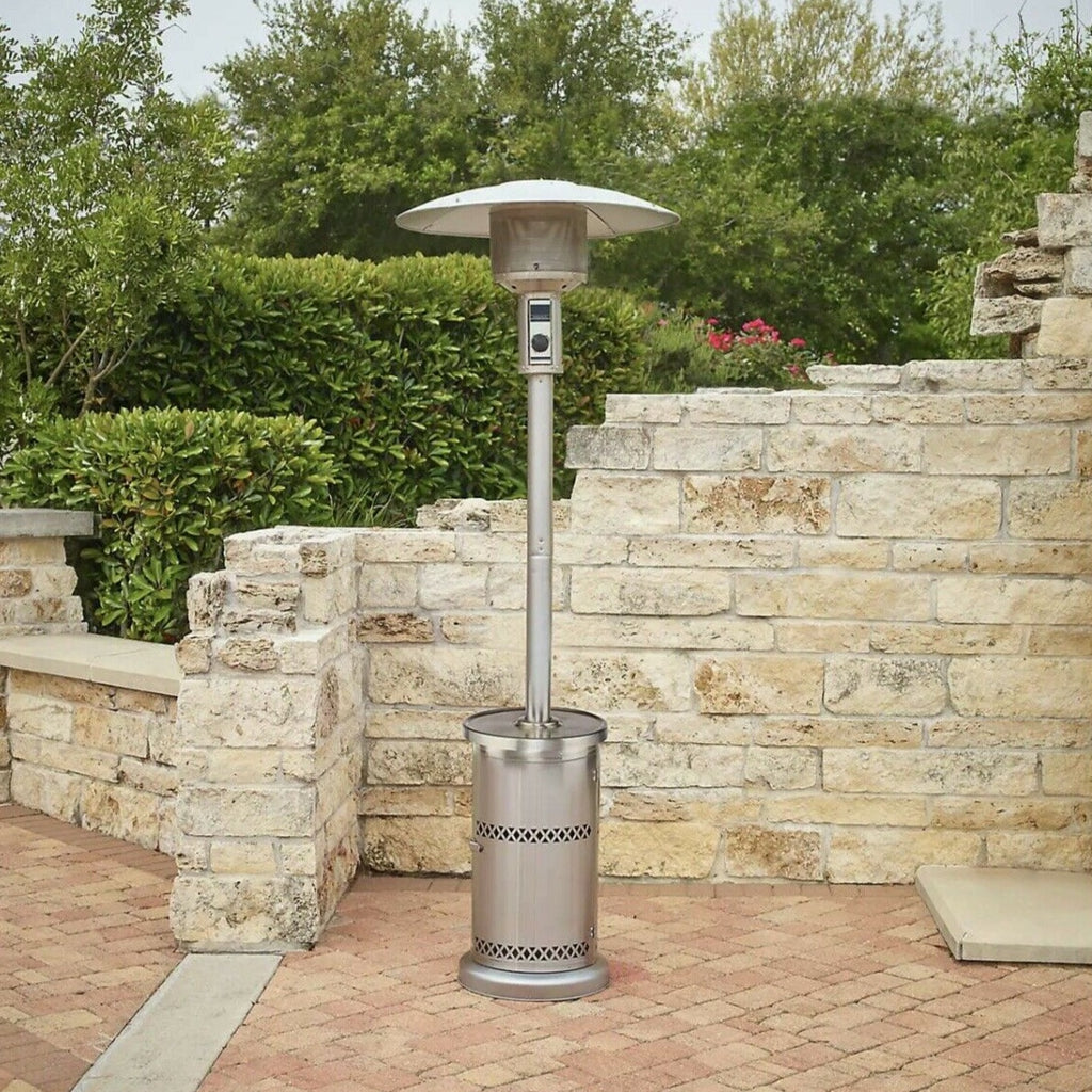 Premium Outdoor Patio Heater Propane Gas Fire Pit Space Heater 48000BTU - Morealis