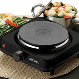 Premium Portable Electric Stove Single Burner Travel Compact Induction Cooktop - Morealis