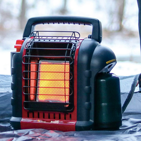 Premium Portable Indoor Outdoor Propane Buddy Heater - Morealis