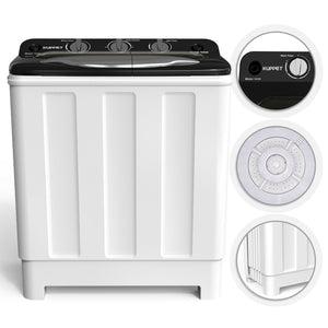 Premium Portable Washing Machine and Dryer Mini Compact Clothes Washer - Morealis