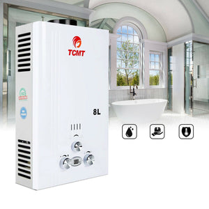 Premium Propane Gas Tankless Water Heater Instant Hot Water Shower - Morealis