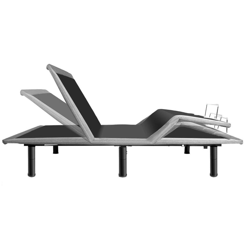 Premium Queen Size Steel Frame Remote Adjustable Bed Base - Morealis
