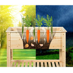 Premium Raised Garden Bed Planter Box with Storage Shelf - Morealis