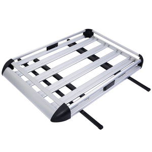 Premium Roof Cargo Carrier Roof Storage Rack Top Luggage Basket - Morealis