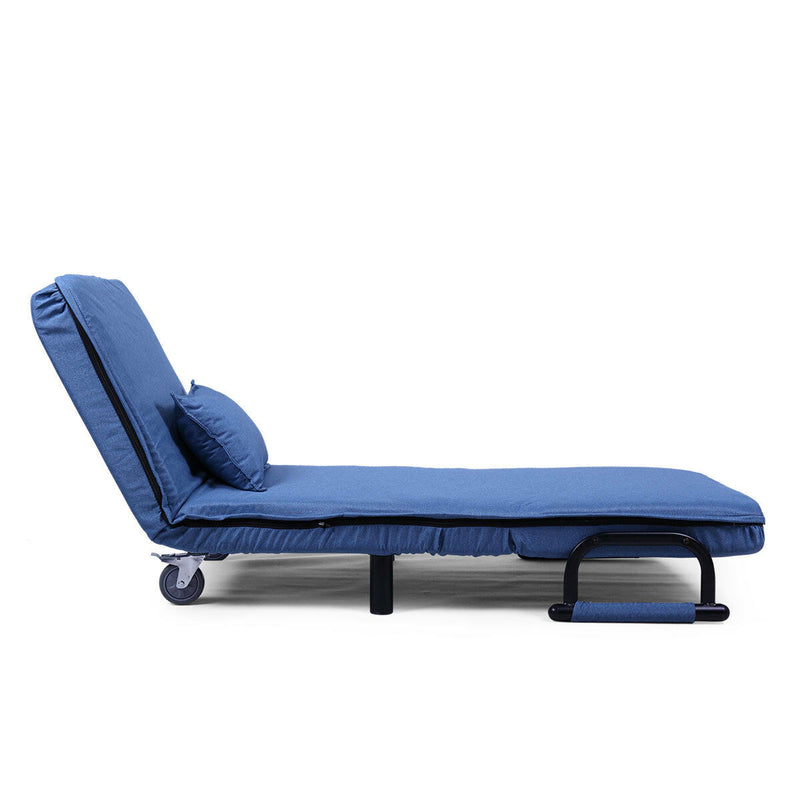 Premium Sofa Bed Folding Arm Chair Width Convertible Sleeper Recliner - Morealis