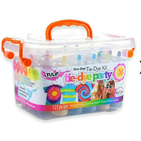 tie dye supplies set