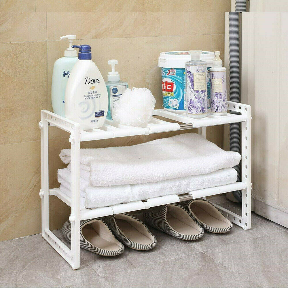 Premium Under Sink Organizer Expandable Storage Cabinet - Morealis
