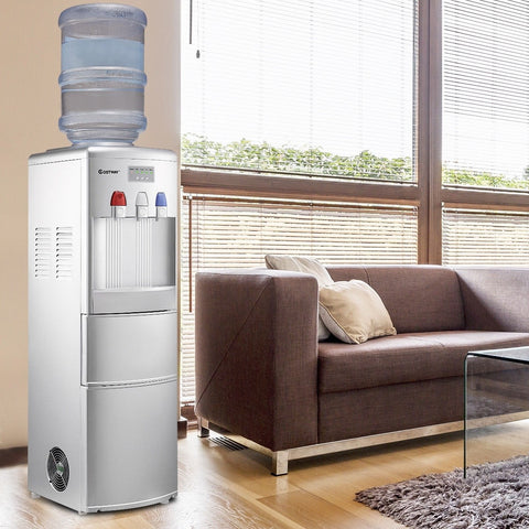 water cooler with ice maker