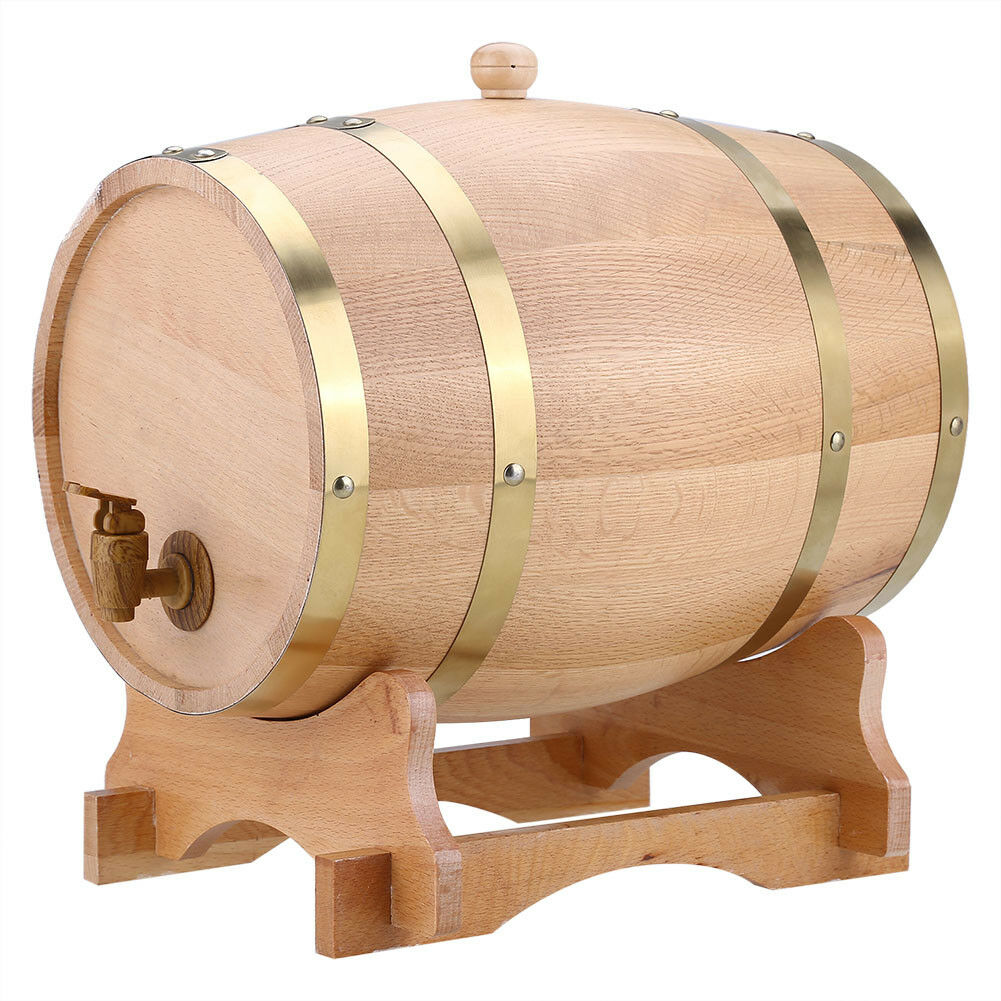 Premium Wine Barrel Wooden Oak Aging Wine Whiskey Storage - Morealis