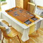 Premium Wooden Jigsaw Puzzle Table with 4 Drawers 1500pc - Morealis
