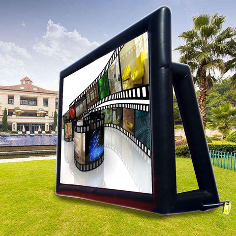screen, inflatable projector screen