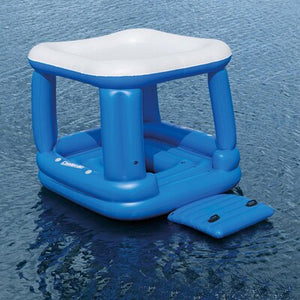 Party for 4 Floating Island Inflatable Pool Island Float - Morealis