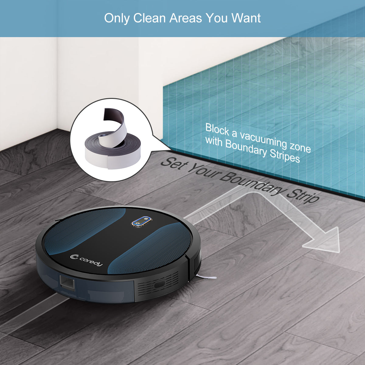 Robot Vacuum Cleaner Automatic Floor Sweeper Cordless Vacuum Cleaner - Morealis