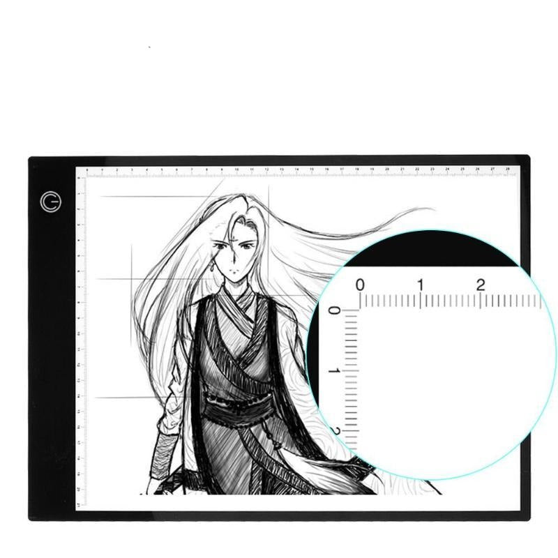 Premium Digital Drawing Tablet Electronic Sketchbook Animation Art Tablet for Tracing - Morealis