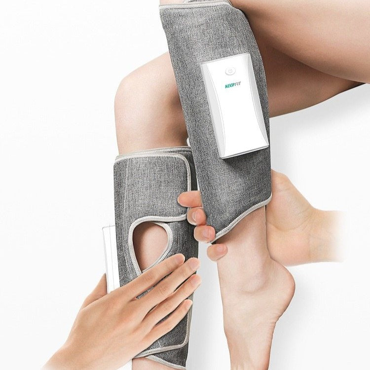 Deluxe Electronic Foot and Leg Massager Air Compression Sleeves Stockings Device - Morealis