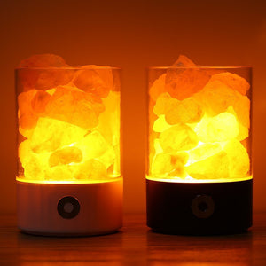 Natural Himalayan Salt Crystal Rock Lamp Air Purifier - Morealis