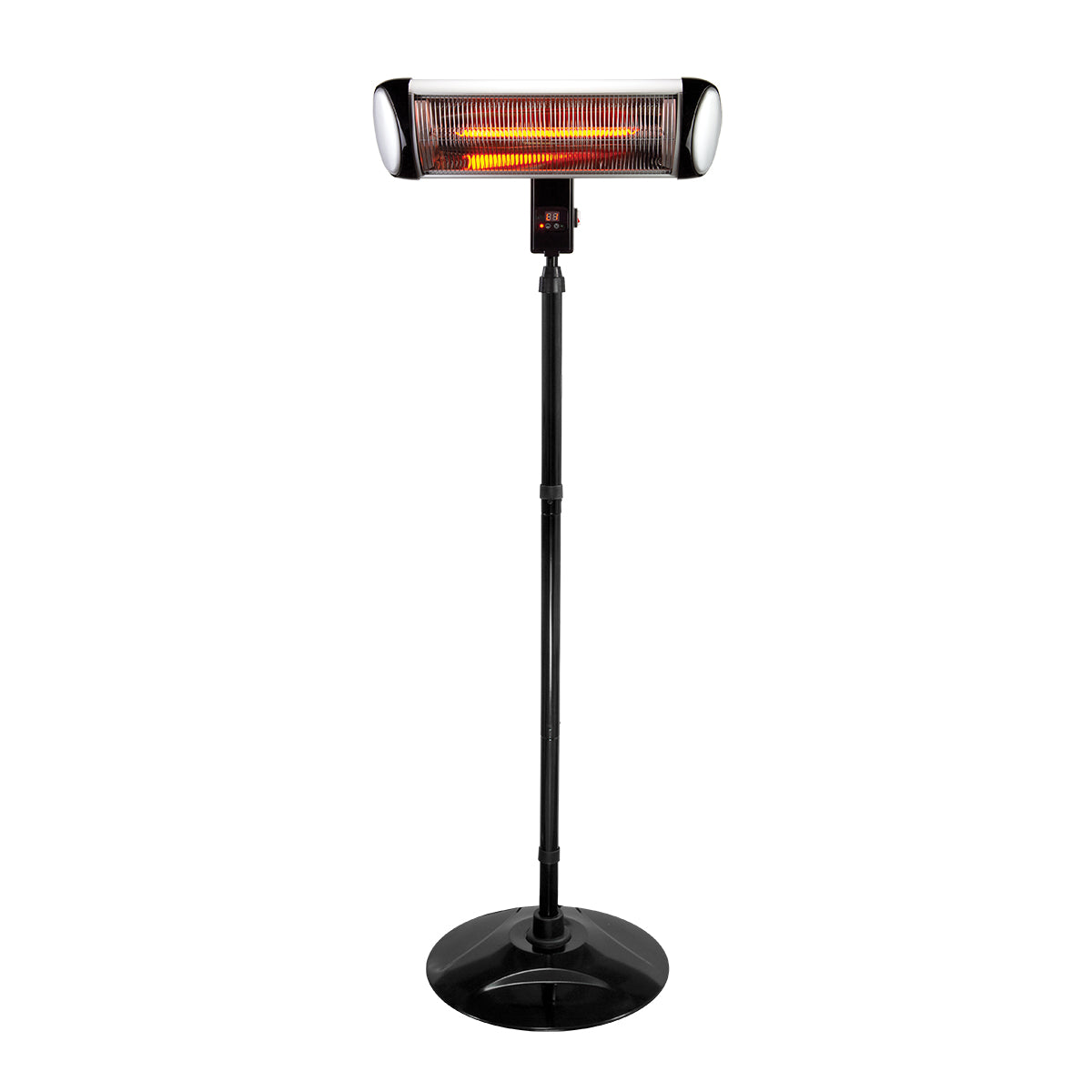 Premium Small Electric Patio Heater Fire Pit Standing Heater - Morealis