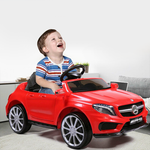 Red Mercedes Benz Kids Electric Car Children Toy Cars Motorized Power Wheel