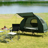 Portable Camping Spacious Compact Off the Ground Cot Tent