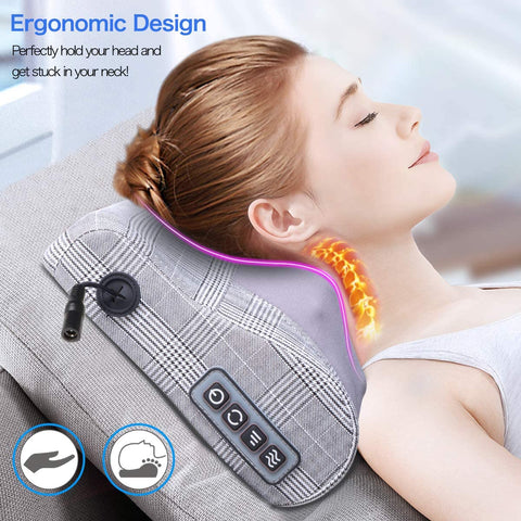 neck and back massager